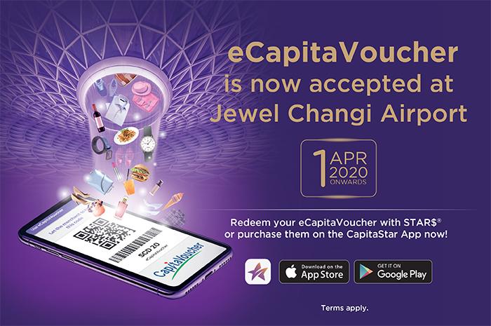 Use Your eCapitaVoucher Now! - Jewel Changi Airport